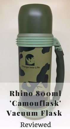 Rhino 800ml 'Camouflask' Vacuum Flask Review