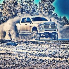 Dodge Ram Getting it on in the snow