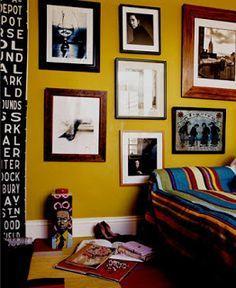 Mustard wall