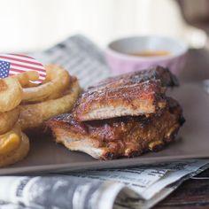 Costillas de cerdo con salsa barbacoa al bourbon. Receta Norteamericana con Thermomix « Thermomix en el mundo