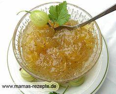 Rezept Stachelbeeren Marmelade auf Mamas Rezepte Homepage