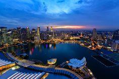 Singapore cityscape  City and architecture photo by SaravutWhanset http://rarme.com/?F9gZi