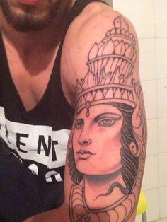 My first Tattoo #thai#tattoo#divinity