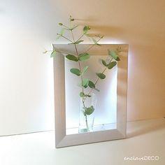 Lámparas originales: un marco con luz
