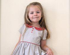 "Girls Dress Pattern ""The Vintage Kate Dress"" Toddler Dress Patterns, Girl Dress Patterns, Vintage Dress Patterns, Little Girl Dresses, Girls Dresses, Kate Dress, Girls Blouse, Vestidos Vintage, Sewing For Kids"