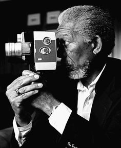 Morgan Freeman | by Bradley Patrick. American actor, film director & narrator. Freeman has received Academy Award nominations for his performances in Street Smart, Driving Miss Daisy, The Shawshank Redemption & Invictus, and won in 2005 for Million Dollar Baby