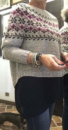 Fair Isle Knitting Patterns, Knitting Designs, Knitting Projects, Birkin, Hand Knitting, Knit Crochet, Stitch, Clothes For Women, Sweaters