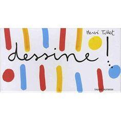 Dessine ! Coffret avec 65 cartes, 6 pochoirs et 1 dé - Boîte ou accessoire - Hervé Tullet - Achat Livre | fnac