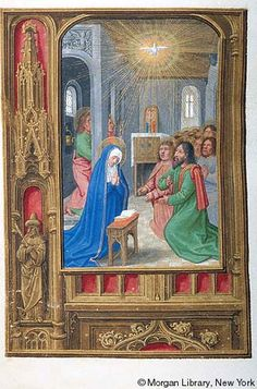 Book of Hours, MS M.399 fol.189v - Images from Medieval and Renaissance Manuscripts - The Morgan Library & Museum