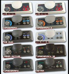 Turbografix & PC Engine Controllers