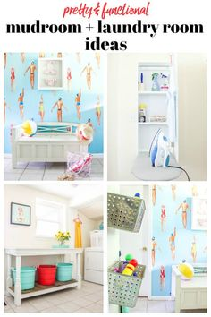 Mudroom - Laundry Room Makeover and Ideas #mudroom #laundryroom #mudroomideas #laundryroomideas #mudroombench #mudroomorganization #laundryroomorganization #laundryroomdecor #mudroomdecor #laundryroomideassmall #laundryrooms #laundryroommakeover #mudrooms