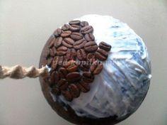 Топиарий из кофейных зёрен своими руками. Мастер-класс с пошаговыми фото