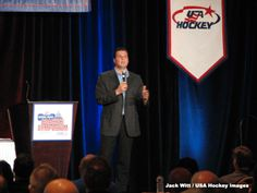 Monday, August 27, 2012: In this week's edition of the USA Hockey Magazine podcast we talk with 2012 U.S. Hockey Hall of Fame inductee and NHL on NBC and Chicago Blackhawks lead game analyst Eddie Olczyk during the 2012 National Hockey Coaches Symposium in Washington, D.C.