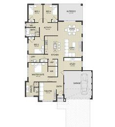 The Sorrento MKII Floor Plan