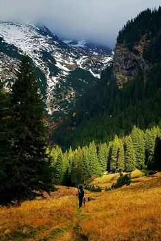 Fagaras, in the Romanian Carpathian Mountains. Places To Travel, Places To See, Visit Romania, Vida Natural, Carpathian Mountains, Adventure Is Out There, Beautiful Landscapes, Land Scape, The Great Outdoors
