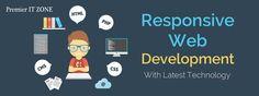 Responsive Web Development With Latest Technology. Premieritzone.com #SEO #Promotion #SMO #Marketing #Google #Webmaster #webdevelopment #webdesigning
