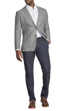 715f602e65c Trim Fit Wool Blazer Single Breasted, Suit Jacket, Trunks, Drift Wood, Law