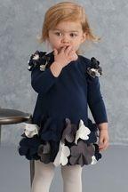 Biscotti Uptown Petals Infant Dress