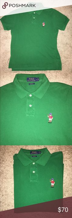 Polo Bear by Ralph Lauren Polo Bear by Ralph Lauren, Fits Like A Medium/Large, NWOT Polo by Ralph Lauren Shirts Polos