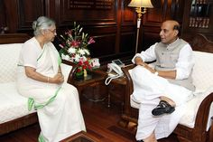 Rajnath meets Sheila Dikshit - read complete story click here.... http://www.thehansindia.com/posts/index/2014-08-25/Rajnath-meets-Sheila-Dikshit-105933