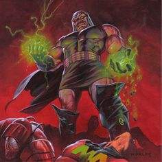 Darkseid defeats the Legion