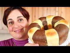 PAN BRIOCHE BICOLORE FATTO IN CASA - Homemade Two Color Bread Brioche - YouTube