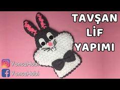 Hello Kitty Kese Lif Yapımı - YouTube Diy Crafts New, Diy Crafts Crochet, Crochet Chart, Free Crochet, Baby Knitting Patterns, Crochet Patterns, Bunny Blanket, Minion Crochet, Animal Rug