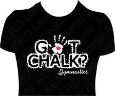 Gymnastics GYMNAST Glitter heart Tshirt Gymnastic by AEROLeotards