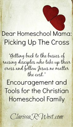 homeschool mamas have more influence than they know and need to prepare children to follow Christ no matter the cost!