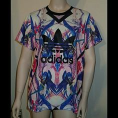 Adidas Bird Print Women's Top Size Medium - NWT  Brand new, never worn, no damage.    Smoke-free, pet-free household.    No trades/swaps!   No holds!   No low-balling!   No PayPal!   ✔ Reasonable offers welcomed! Please use the offer button so I know you are serious about the item! I will not respond to price negotiations via comments.  ✔ I love bundling! Not only will you get ONE shipping fee, I will also discount your combined total! Please ask me in the comments!   Happy poshing!  Adidas…