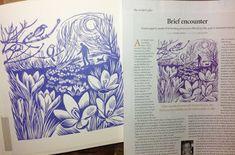 purple podded peas: Gardens Illustrated