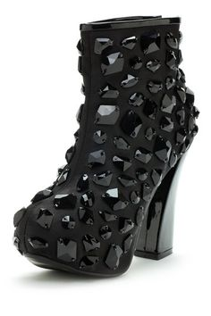Emelio Frank Rocka Gemstone Bootie by Step Into Booties... I DON'T LIKE THESE BUT THEY SURE ARE DEFINITELY UNUSUAL