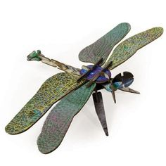Kids on Roof, Dragonfly Puzzle Tomboy Kids, Puzzles 3d, Fashion Hub, Totems, Crafty Craft, Creative Kids, Color Splash, Gifts For Kids, Branding Design
