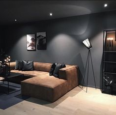 Design Loft, Home Room Design, Interior Design Living Room, Living Room Designs, Living Room Decor, Bedroom Decor, Interior Livingroom, Living Spaces, Apartamento New York