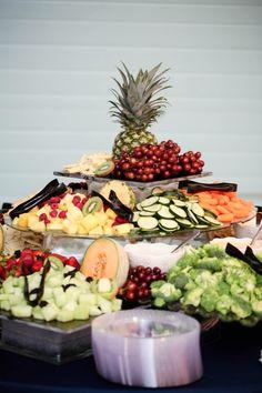 Wedding reception. Fruit table.