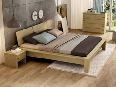 Awesome Schlafzimmer Ideen Zirbe that you must know, Youre in good company if you?re looking for Schlafzimmer Ideen Zirbe Budget Bedroom, Home Bedroom, Bedroom Decor, Bedroom Bed Design, Modern Bedroom Design, Japanese Bed Frame, Bedroom Built In Wardrobe, Platform Bed Designs, Best Bedding Sets