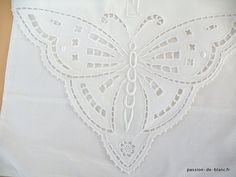 """MADEIRA Antique Vintage Linen Tablecloth w/ Cutwork & Embroidery 48"""" X 47"""" - Google Search - Google Search"""