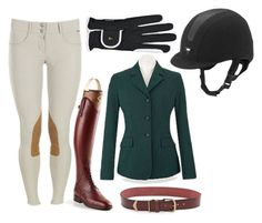 """Foxhunt"" by equestrian-dreaming ❤ liked on Polyvore featuring Linea Pelle"