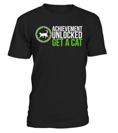 # Video Game Cat T-shirt .   Do you love cats andvideo games? Did you just adopt a cute adorable cat or kitten? If you have unlocked this achievement then this T-shirt will be the perfect gift for you!   Tip: If you buy 2 or more, you'll save on shipping   Guaranteed safe and secure checkout via: Paypal | VISA CARD | MASTER CARD