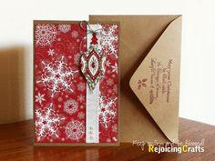 Handmade Christmas Cards | Handmade Christmas Ornament Card | Flickr - Photo Sharing!