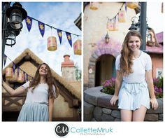This photographer has amazing and creative Disney pictures for seniors! Check it out!