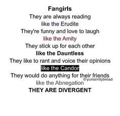 WE ARE ALL DIVERGENT!!!!