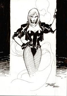 Black Canary by Jim Lee Comic Book Artists, Comic Book Heroes, Comic Artist, Comic Books Art, Jim Lee Art, Arrow Black Canary, Batman Drawing, Dc Comics Girls, Comic Art Community