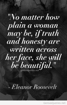Beauty women quote with Eleanor Roosevelt