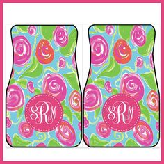 Car Mats Monogrammed Personalized Car Mats Custom by ChicMonogram, $75.00