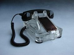 $195 iRetrofone Classic - Deluxe Silver. This is SO cool