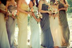 maxi bridesmaids dresses