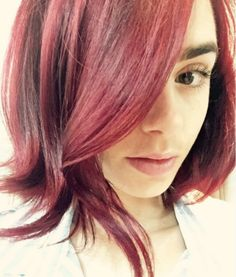 We've rounded up the best celebrity dye jobs of 2016!  Lily Collins' Mahogany Brown