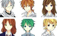 Nira oni -characters