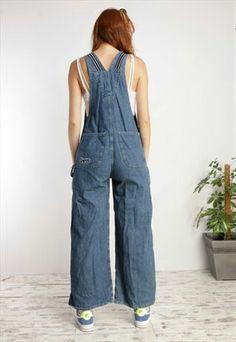 Dungarees, Overalls, Asos, Vintage, Fashion, Trousers, Moda, Fashion Styles, Vintage Comics